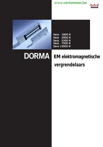 Dorma elektrische magneten