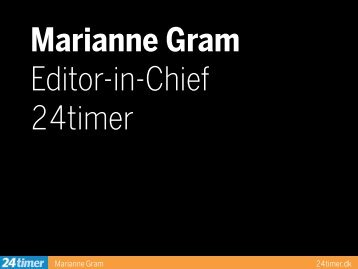 Marianne Gram 24timer.dk