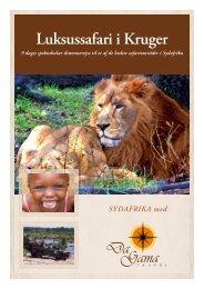 Luksussafari i Kruger - DaGama Travel