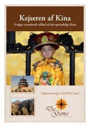 Kejseren af Kina - DaGama Travel