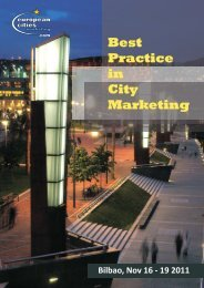 Best Practice in City Marketing - European Cities Marketing