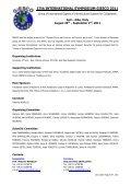 17th International Symposium GiESCO 2011 - Università degli Studi ... - Page 2