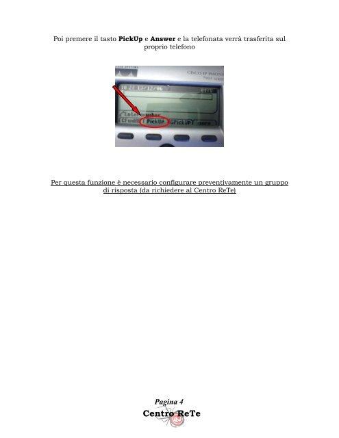 Manuale per funzioni standard su telefoni Cisco VoIP (mod.7905 ...