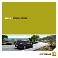 Brochure Renault Mégane Estate