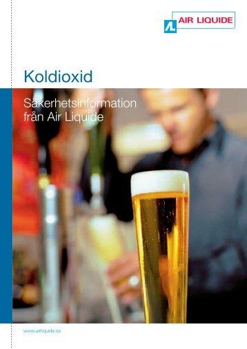 Koldioxid - säkerhetsinformation - Air Liquide