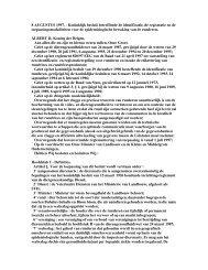 Koninklijk besluit betreffende de identificatie, de registratie en de ...