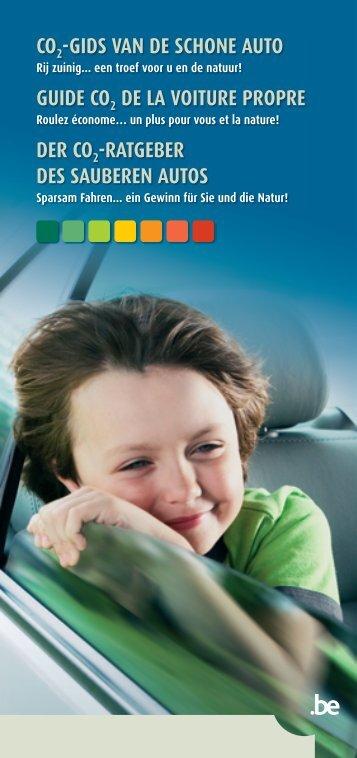 gids van de schone auto - FOD Volksgezondheid, Veiligheid van de ...
