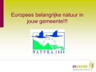 Europees beschermde natuur in jou gemeente - Agentschap voor ...