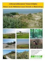 achtergronddocument (pdf-document) - Agentschap voor Natuur en ...