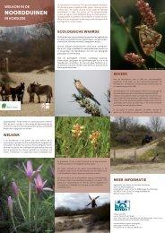 NOORDDUINEN - Agentschap voor Natuur en Bos