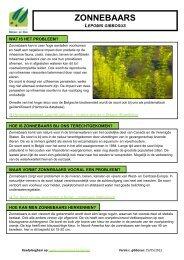 Zonnebaars (pdf) - Agentschap voor Natuur en Bos