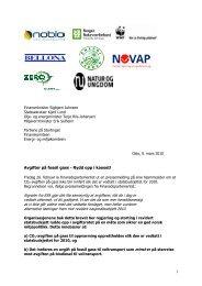 1 Avgifter på fossil gass - Rydd opp i kaoset! Signaler fra ESA gjør ...