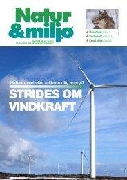 Natur & miljø 6-2012 - Norges Naturvernforbund