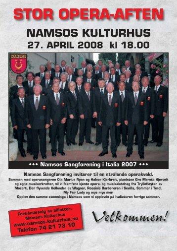 OPERA DM-08:Layout 1 - Namsos Sangforening
