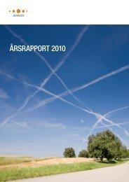 Årsrapport 2010 (pdf) - Avinor