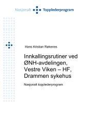 Hans Kristian Røkenes - Helse Midt-Norge