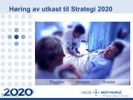 Den Norske Legeforening 26/4 - 2010 - Helse Midt-Norge