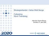 Komiteen - Helse Midt-Norge
