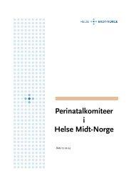 Perinatalkomiteer i Helse Midt-Norge (feb. 2004)