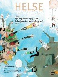 Spiller primær- og spesial- helsetjenesten ... - Helse Midt-Norge