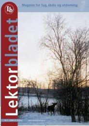 Lektorbladet 1 2004 - Norsk Lektorlag