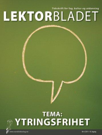 Lektorbladet - Norsk Lektorlag