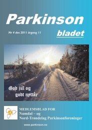 Parkinsonbladet nr 4 - Norges Parkinsonforbund