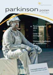 gir stafettpinnen videre - Norges Parkinsonforbund