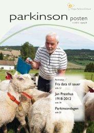 Last ned nr 2, 2012 - Norges Parkinsonforbund