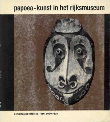 papoea-kunst in het rijksmuseum - Stichting Papua Erfgoed