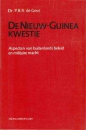 denieuw-guinea kwestie - Stichting Papua Erfgoed