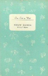 nieuw guinea - Stichting Papua Erfgoed