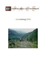 Jaarverslag 2006 - Papuaerfgoed.org