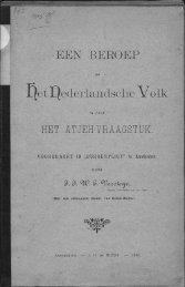 £[etI^ederlandsche Volk. - Acehbooks.org