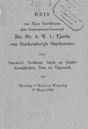 REIS \ Jhr. Mr. A. W. L. Tjarda van Starkenborgh ... - Acehbooks.org