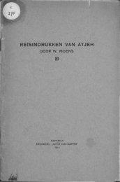 REISINDRUKKEN VAN ATJEH - Acehbooks.org