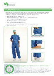 BARRIER® Clean air suit - Mölnlycke Health Care