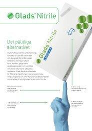 Glads Nitril Produktblad - Mölnlycke Health Care