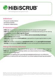 HiBiSCRUB® - Mölnlycke Health Care
