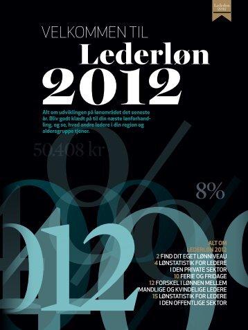 Lederløn 2012