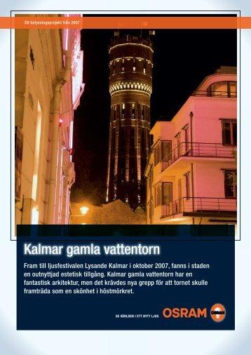 Kalmar gamla vattentorn - Osram