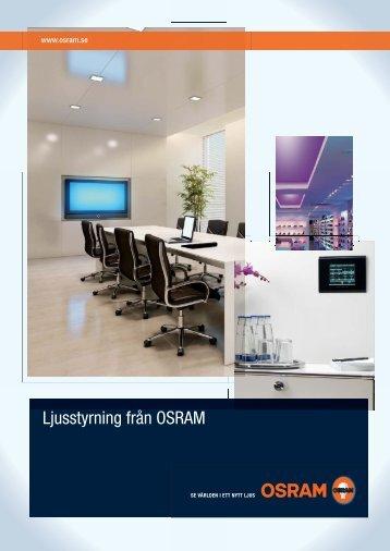 Ljusstyrning från OSRAM.indd