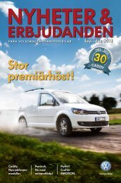 Sep–dec 2012 - Volkswagen Transportbilar