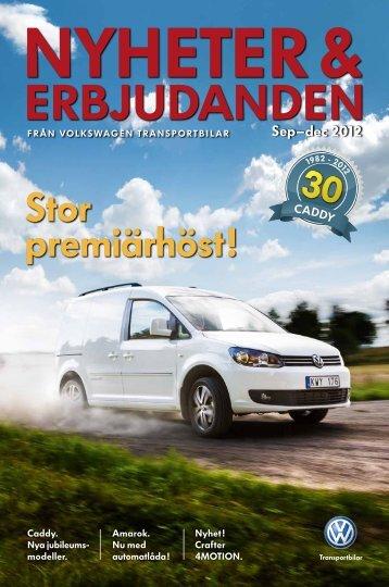 Sep–dec 2012 - Volkswagen Transportbilar
