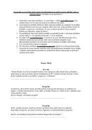 Specialistični izpit iz družinske medicine - strukturiran esej