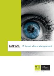 DIVA IP based video management - VDG Security