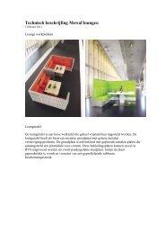 Technische omschrijving - De Projectinrichter