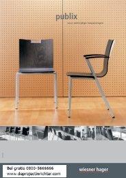 Brochure Wiesner Hager Publix - De Projectinrichter