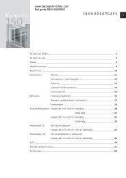 Brochure Bomefa Design 150 - De Projectinrichter
