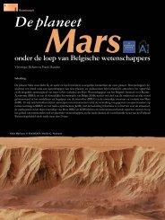 Volledig artikel in Science Connection - Belgisch Instituut voor ...